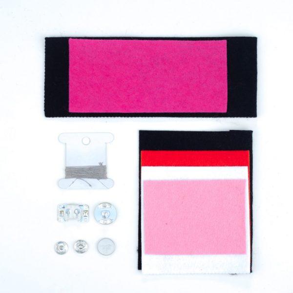 Heart E-textile bracelet kit