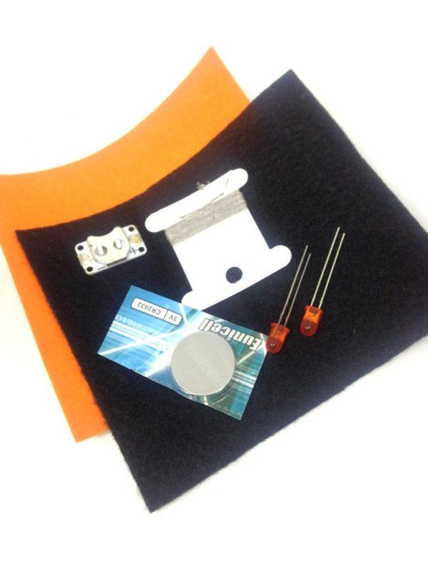 E-textile Halloween kit