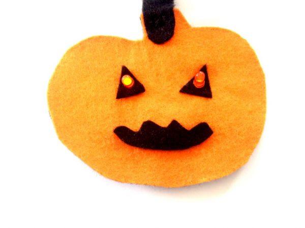 E-textile Halloween Bunting