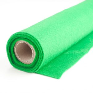 Felt roll green