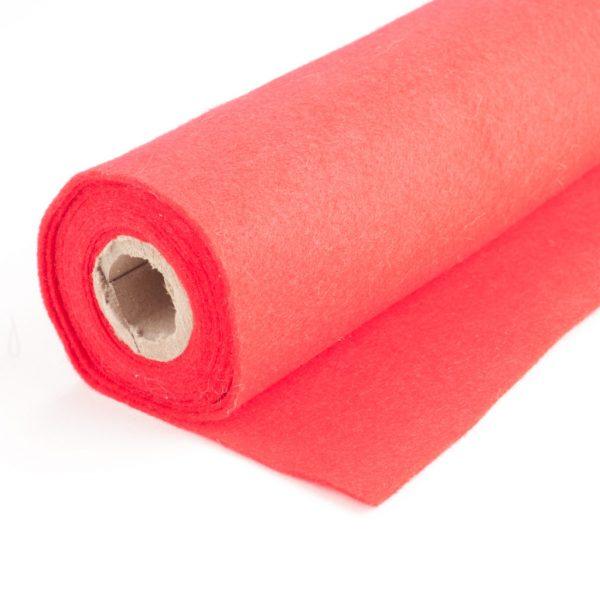 Felt roll red