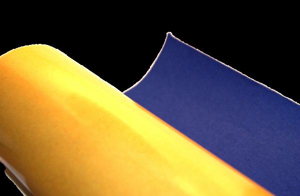 Royal blue self adhesive felt