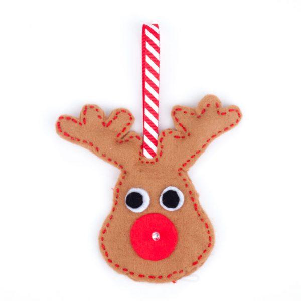 E-textile reindeer