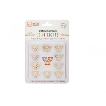 Chibitronics colour circuit stickers