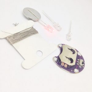E-textile kit multi LED's