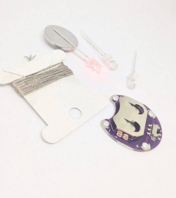 E-textile kit multi LED's
