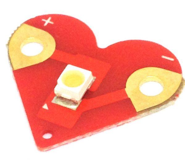 Teknikio heart LED
