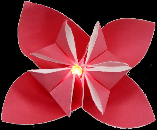 Teknikio activating origami flower