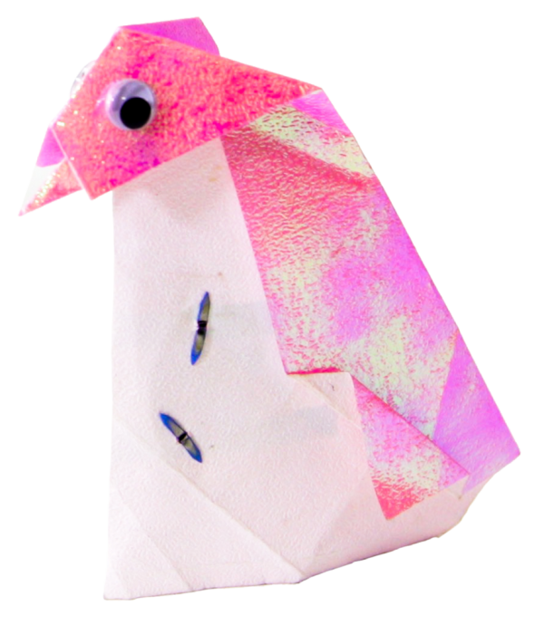 Teknikio activating origami penguin