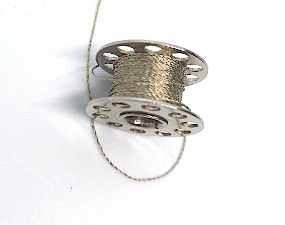 Conductive thread bobbin 6M