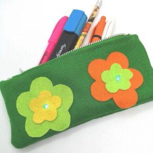 E- textile pencil case