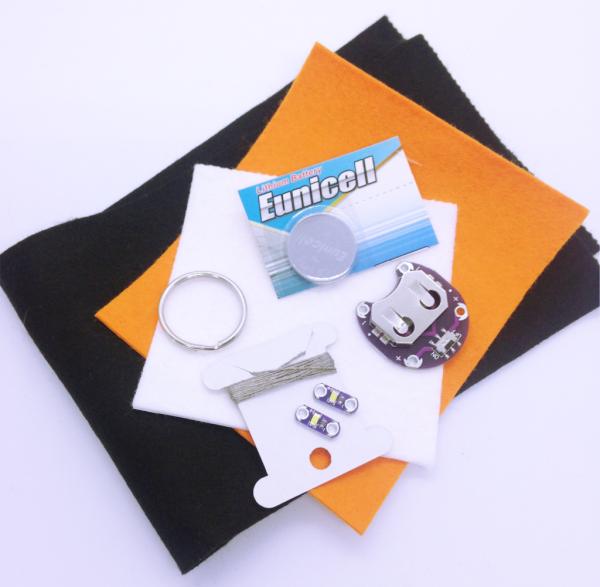 E-textile camper van kit
