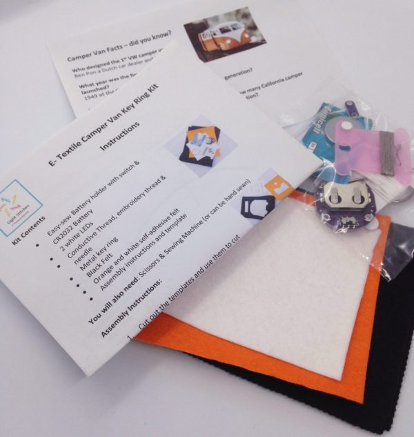 Light Stitches E-textile kit