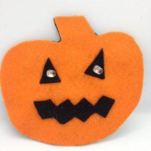 E- textile pumpkin