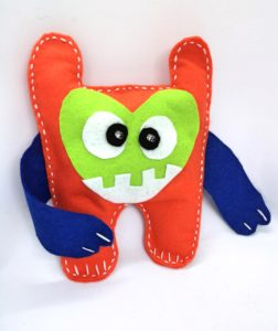 E- textile Soft Switch Monster