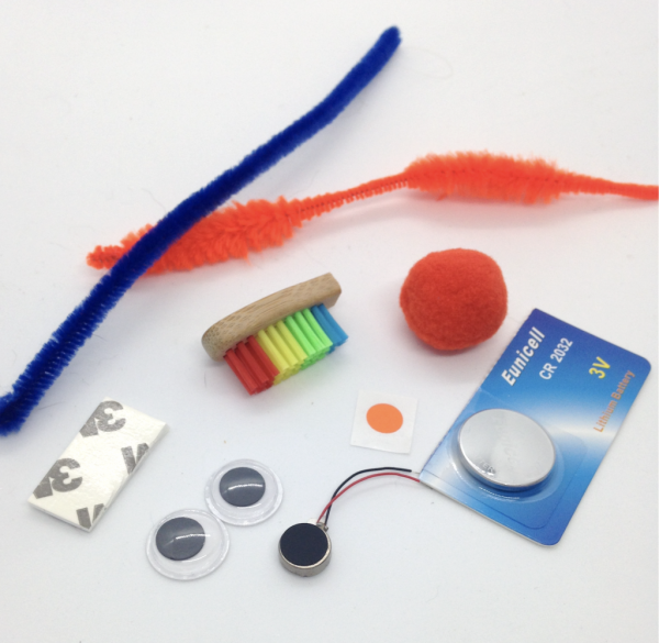 Light Stitches Eco Bristle Bot Bug Kit