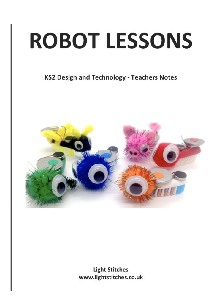 Teachers resources robot lessons