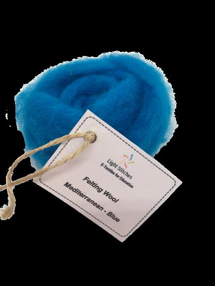 Mediterranean Corriedale wool