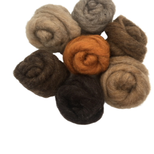 Woodland mix corriedale wool
