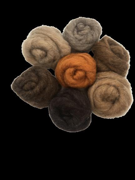 Woodland mix corriedale wool