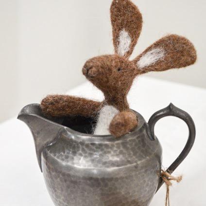 Hare in jug